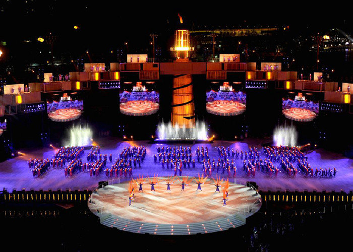 2010 Youth Olympic Games Opening Ceremony in Singapore
