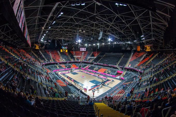 2012 London Olympics Basketball Court