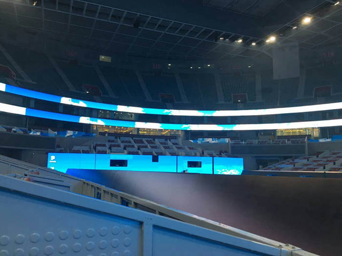 Glux LED project -- China National Tennis Court