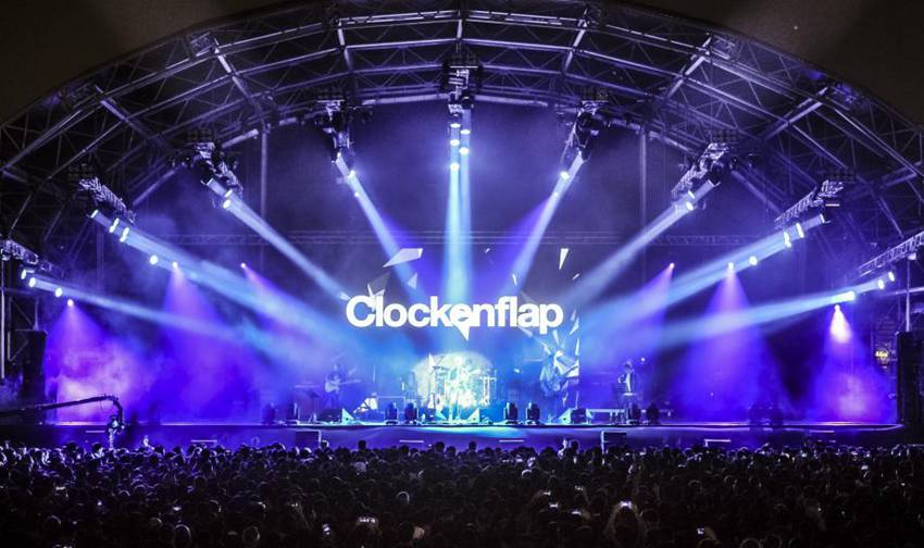 Glux LED--2016 Hong Kong Clockenflap Music and Arts Festival
