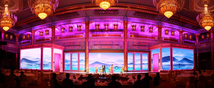 Glux LED IDsn series project--State Banquet of the State Visit to China by Donald Trump