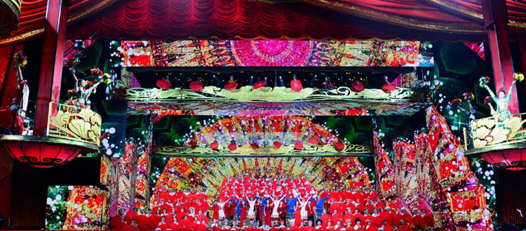 2018 CCTV Spring Festival Gala--Glux LED screen