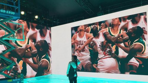 More than 260sqm Glux products Appear on Nike event site