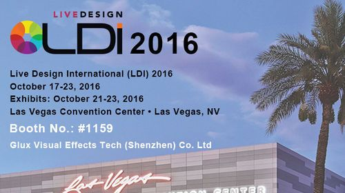 Glux Invite You to Visit Booth 1159 During 2016 LDI