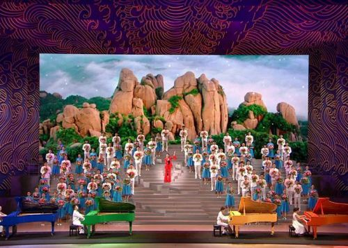 Glux LED Display Screens Successfully  Served the 2017 BRICS Xiamen Summit Evening Party