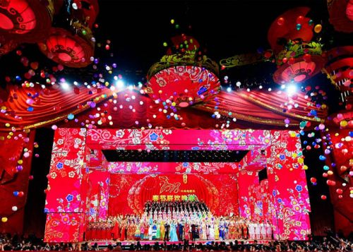 Glux Presents Perfect Visual Experience to all Chinese People on 2018 CCTV Spring Festival Gala